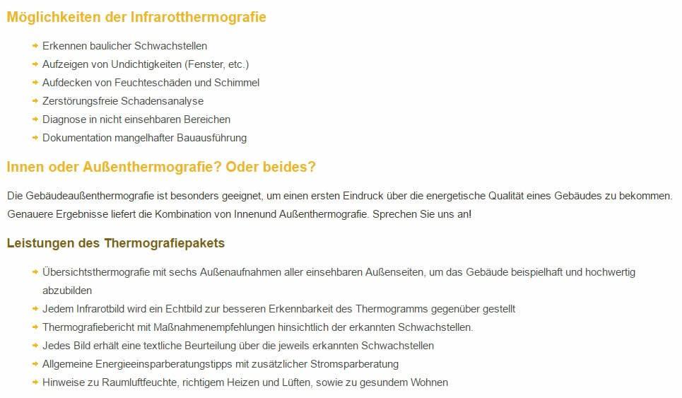 Thermografie Anbieter in  Heilbronn